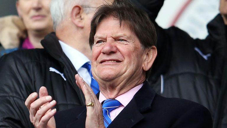 Sir John Madejski: Reading chairman looking for a new owner