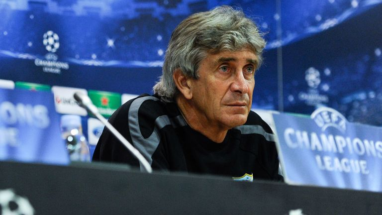 Manuel Pellegrini: Will replace Roberto Mancini at Manchester City