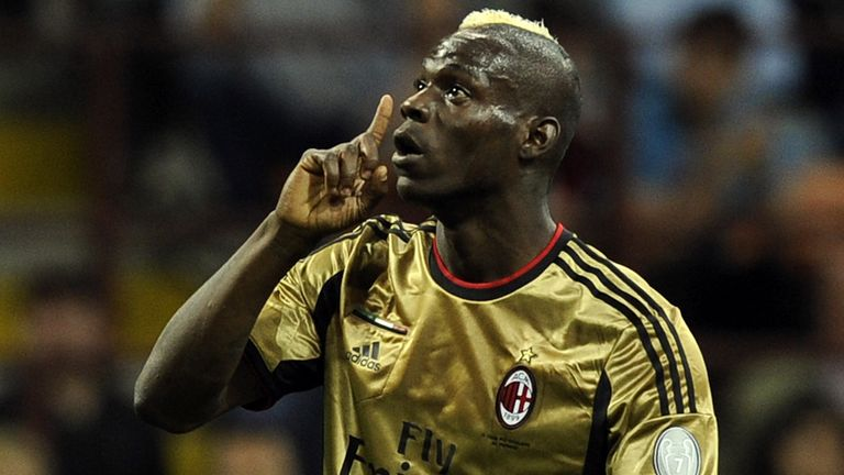 Mario Balotelli: Was the victim of racist abuse from Roma fans