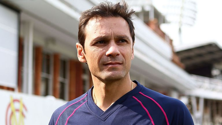 Mark Ramprakash is relishing his new role at Middlesex
