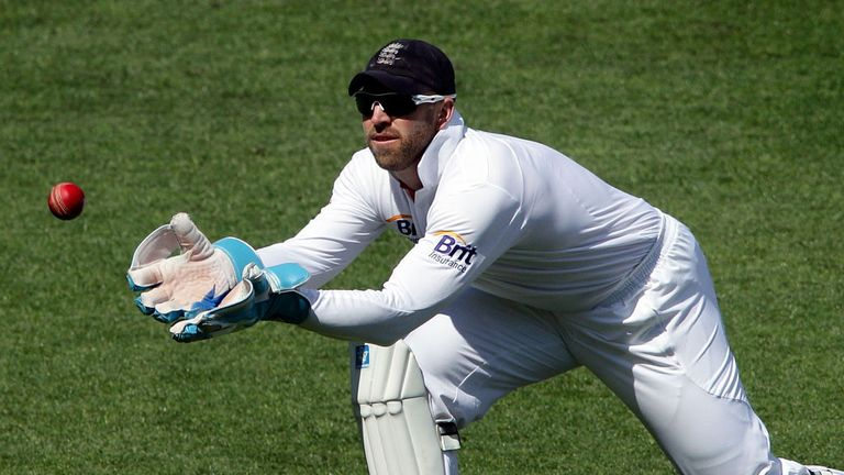 Matt Prior: has taken 183 catches and 13 stumpings in 65 Tests