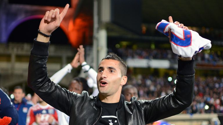 Maxime Gonalons: Celebrates Lyon's win over Rennes