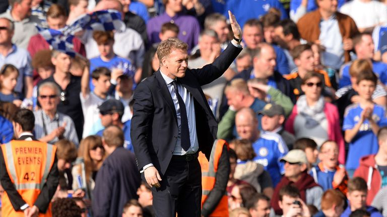 David Moyes: Eleven years at Everton before moving to Manchester United