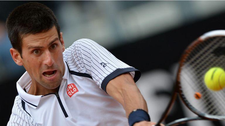 Novak Djokovic: Too good for Alexandr Dolgopolov