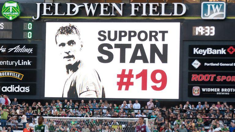 Aston Villa tribute to captain Stiliyan Petrov