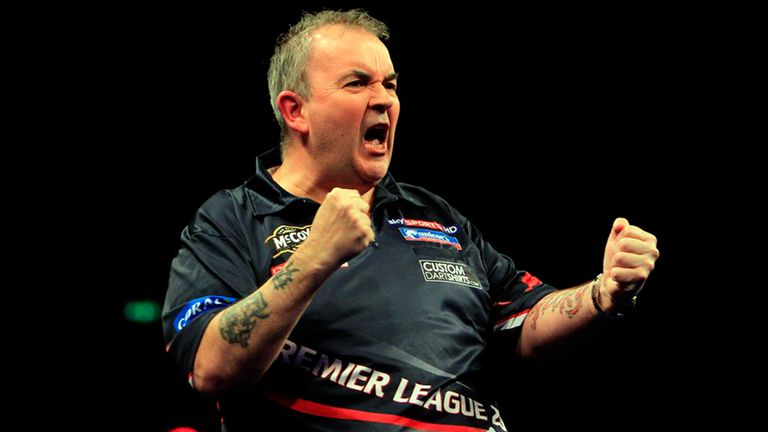 Phil Taylor: Through to play-offs after victory in Liverpool