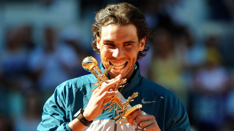 Rafael Nadal: Looking to retain his Madrid Masters title