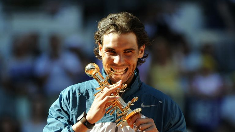 Rafael Nadal: Continued his superb form on clay