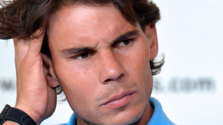 Rafael Nadal: aiming to become the first man to win eight French Opens