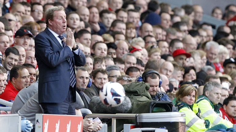 Harry Redknapp: Admits big changes are needed at QPR next season