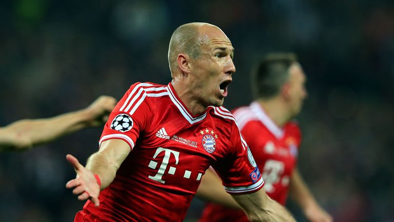 Arjen Robben: Scored the winning goal in the Champions League final to bury his demons