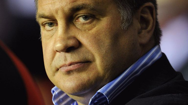 Shaun Wane: Stern words at half-time at the DW Stadium