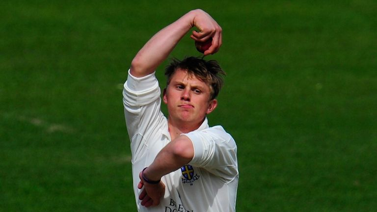 Scott Borthwick: Durham leg-spinner in squad for Boxing Day Test