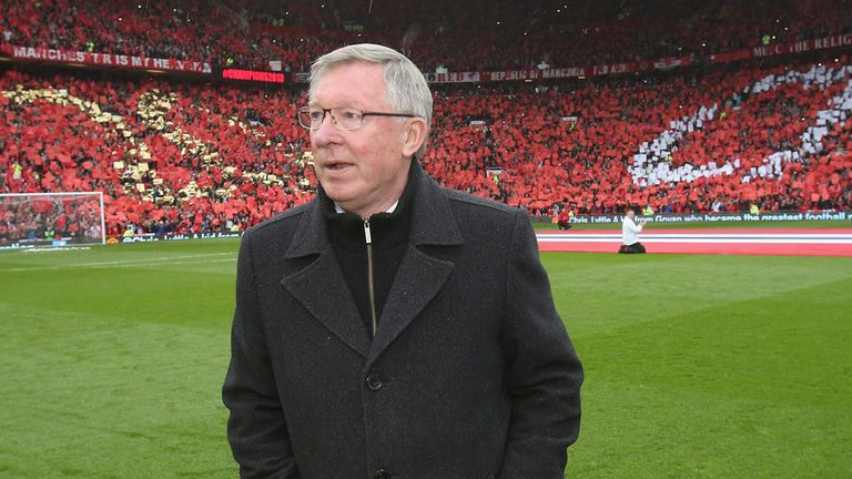 Sir Alex Ferguson thanked fans after bowing out at Old Trafford