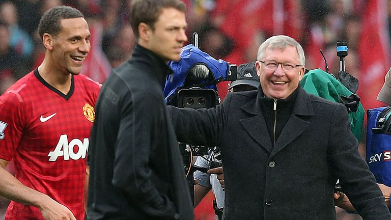 Rio Ferdinand was full of praise for Sir Alex Ferguson