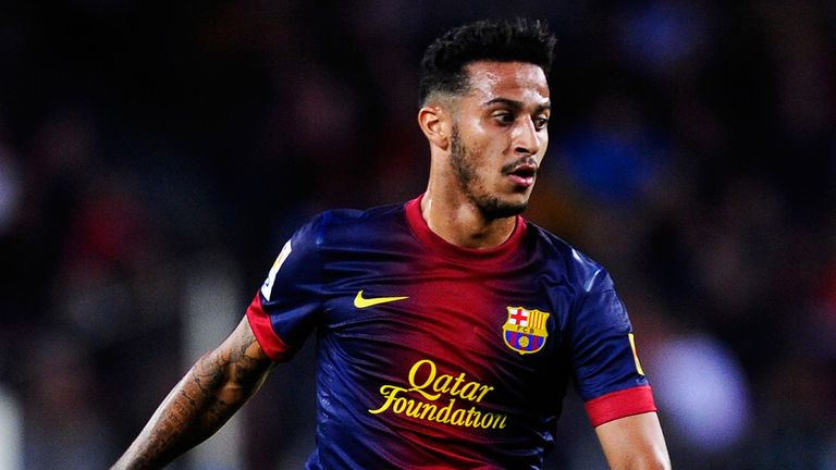 Thiago Alcantara: Barcelona midfielder has been linked with Manchester United