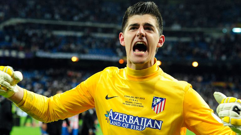 Thibaut Courtois: In a positive frame of mind for Madrid derby