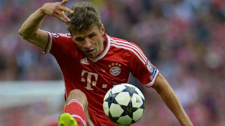 Thomas Muller: Netted a hat-trick as Bayern Munich enjoyed cup rout