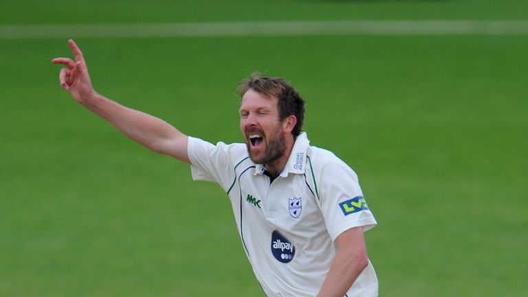 Alan Richardson: Took four wickets but could not prevent Hampshire from taking control