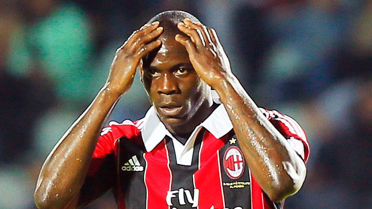 Mario Balotelli: An iconic figure who AC Milan hope to see play a big part in their future