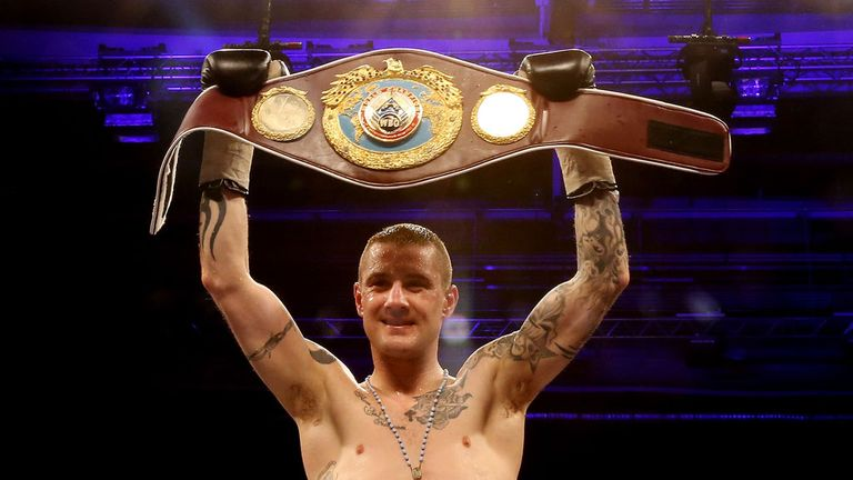 Ricky Burns: Will make the fourth defence of his WBO belt against Raymundo Beltran