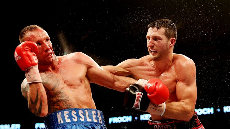 Classic clash: Froch and Kessler go at it again!