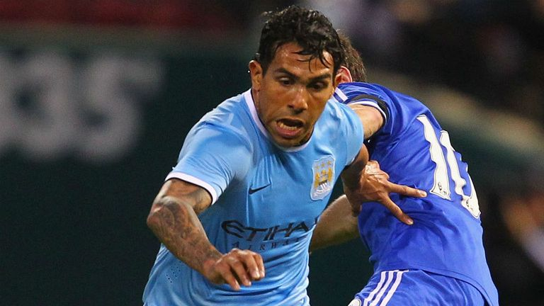 Carlos Tevez: Wanted by Milan, still