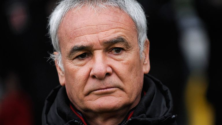 Claudio Ranieri: Accused his side of losing concentration