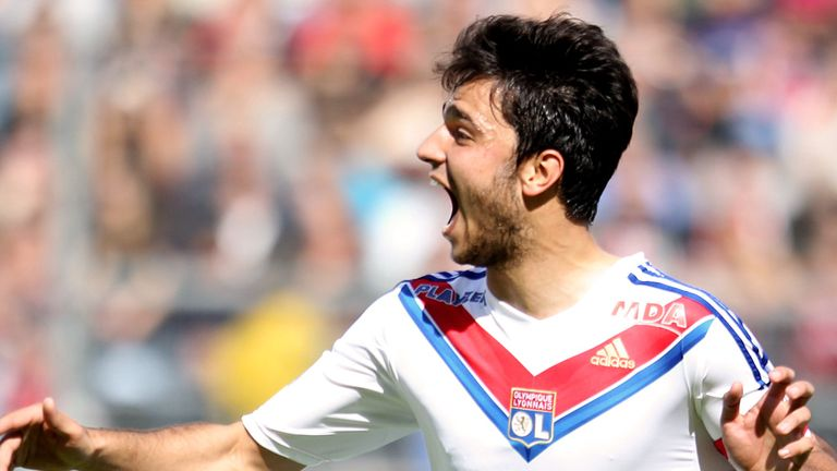 Clement Grenier: Lyon midfielder has been linked with Arsenal and Liverpool