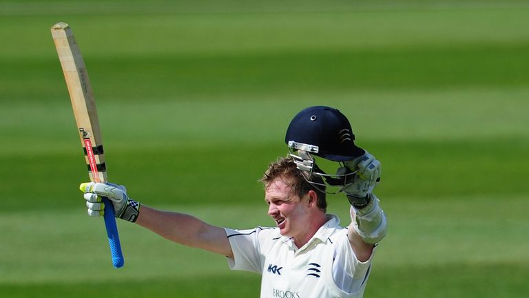 Sam Robson: Made unbeaten century on day one against Warwickshire