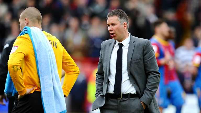 Darren Ferguson: Heartbroken after late loss at Crystal Palace