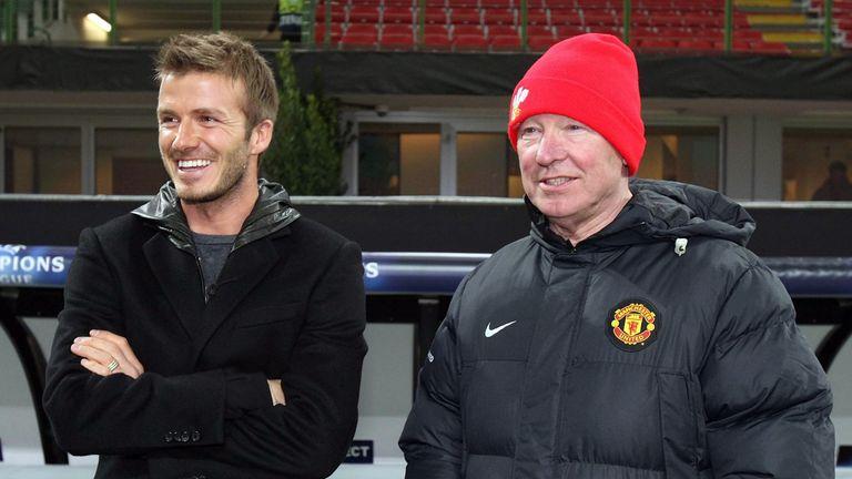 David Beckham: Says Sir Alex Ferguson was like a father figure