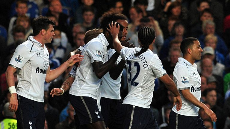 Emmanuel Adebayor: Scored Tottenham's first equaliser