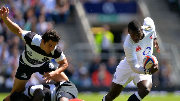 Christian Wade: Scored in a non-Test match for England against the Barbarians