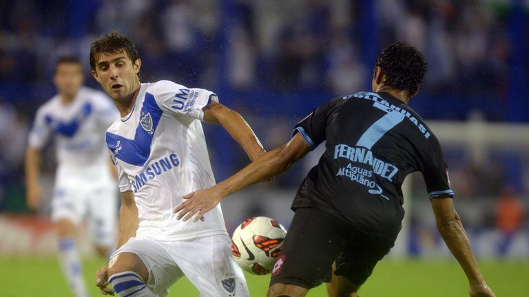 Gino Peruzzi: Velez Sarsfield have denied any approach from Manchester City