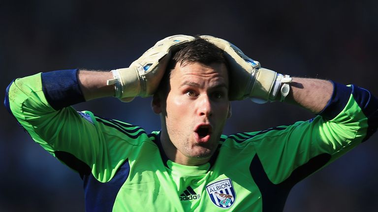 Ben Foster: West Brom goalkeeper facing 12 weeks out
