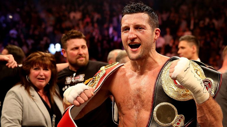 "Carl Froch: Reluctant to give George Groves ""a free shot"""