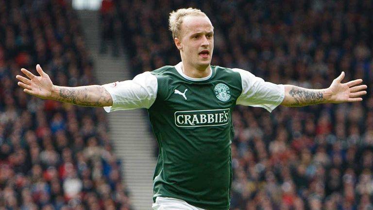 Leigh Griffiths: Hopes Hibernian can end their season on a high