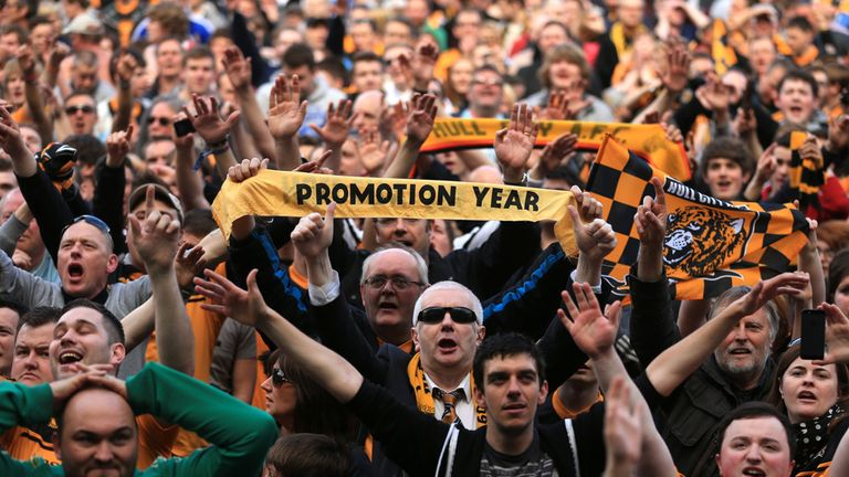 Hull will take on Norwich at the KC Stadium in their first home game back in the Premier League
