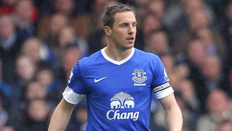 Phil Jagielka: Praised by new Everton manager Roberto Martinez