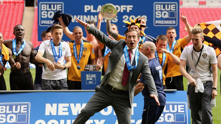 Newport: Celebrate promotion to the Football League