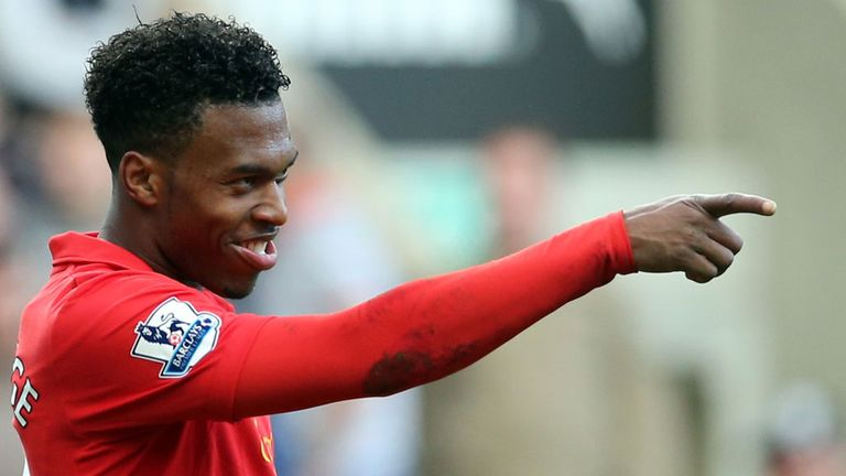 Daniel Sturridge: Quickest player to reach ten goals for Liverpool in the Premier League