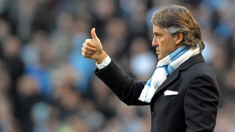 Roberto Mancini: Massimo Moratti has refused to rule out a return for the former Manchester City boss
