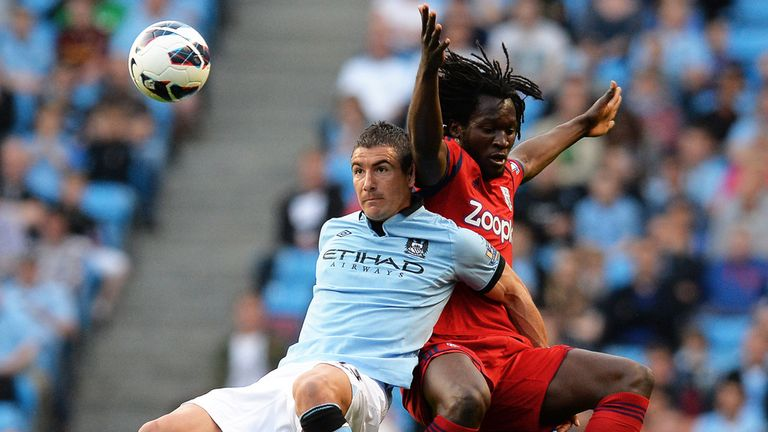 Aleksandr Kolarov: Happy to fight for his place at City