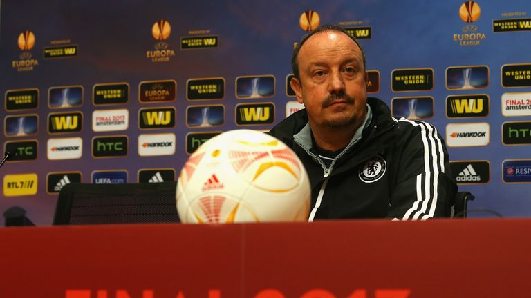 Rafael Benitez: Determined to prove a point to Chelsea fans