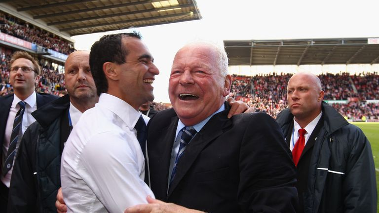 Dave Whelan: Believes Roberto Martinez could have been a big success at OT