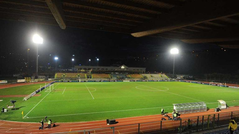Serravalle Stadium: Venue for England's World Cup qualifier against San Marino
