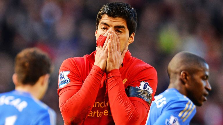 Luis Suarez: Still looking for a way out of Anfield
