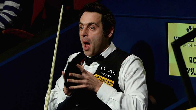 Ronnie O'Sullivan: Barry Hearn could persuade him to continue playing