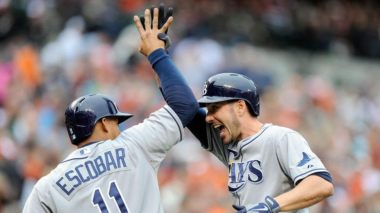 Matt Joyce (R): Went back-to-back with two outs as Tampa Bay ran out winners in New York